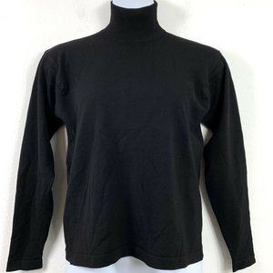 Classiques Entier Large Sweater Merino Wool Black